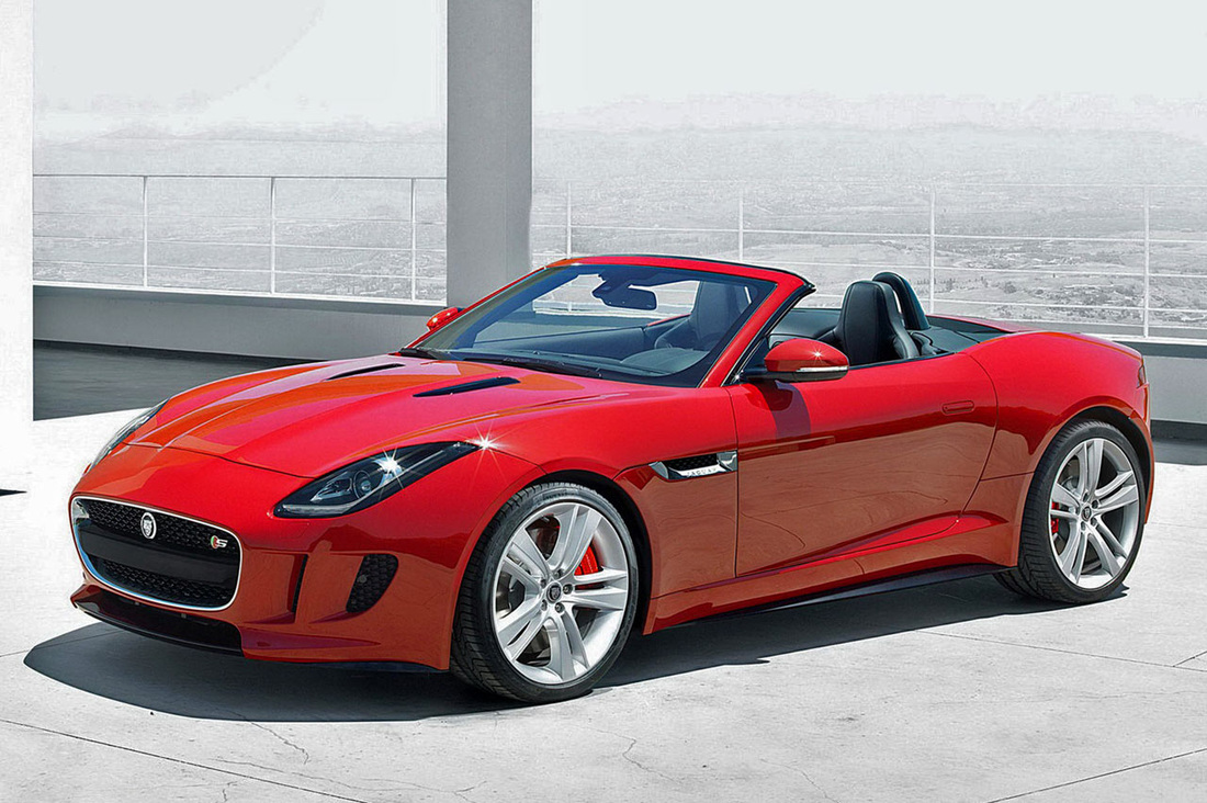 Convertible of use Year. Jaguar F-Type