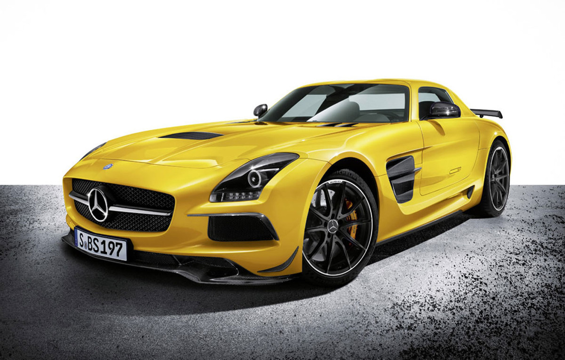 Mercedes-Benz SLS AMG Black Car