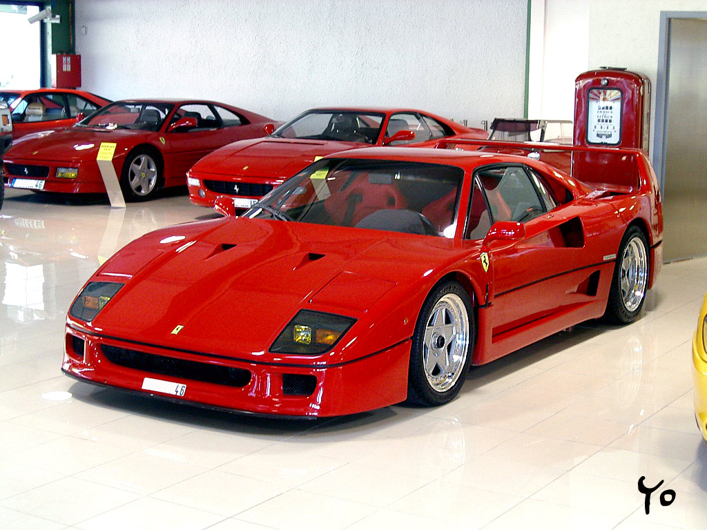 It is the greatest supercar  F 40